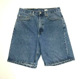 550 Relaxed Fit Denim Jean Shorts Meduim Wash GUC
